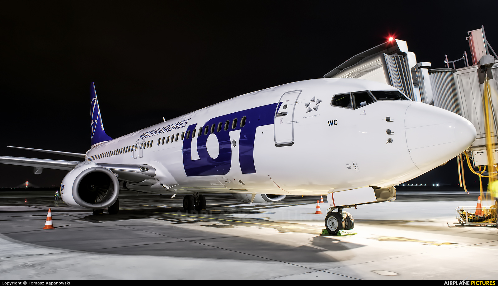 LOT - Polish Airlines SP-LWC aircraft at Rzeszów-Jasionka