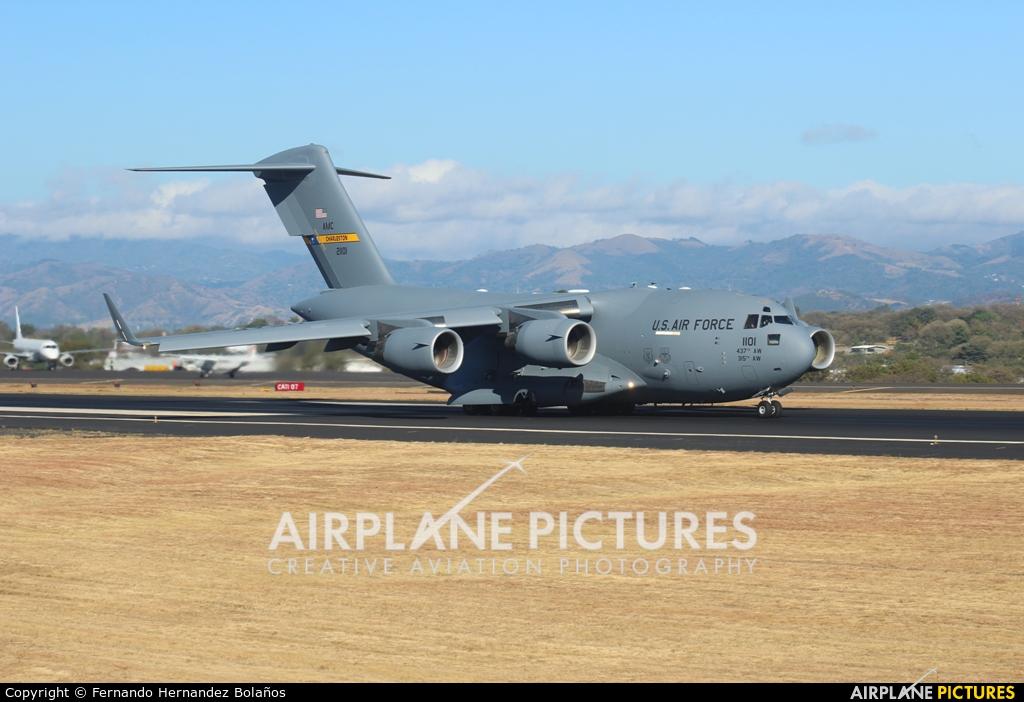 USA - Air Force 02-1101 aircraft at San Jose - Juan Santamaría Intl