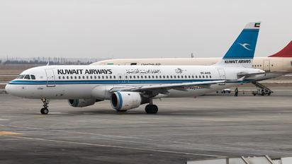 9K-AKB - Kuwait Airways Airbus A320