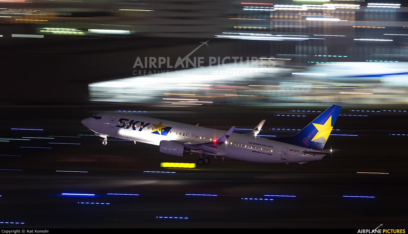 Skymark Airlines JA737T aircraft at Tokyo - Haneda Intl