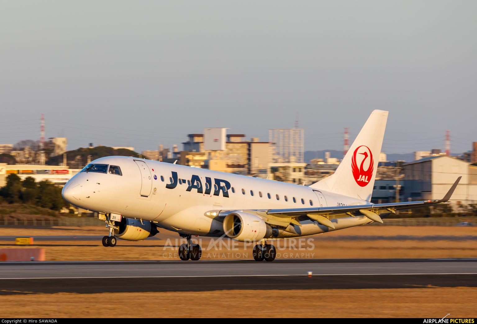 J-Air JA211J aircraft at Osaka - Itami Intl