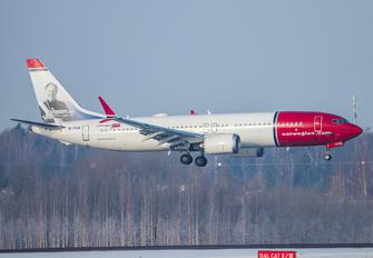 EI-FYA - Norwegian Air International Boeing 737-8 MAX