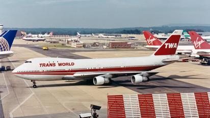N93105 - TWA Boeing 747-100