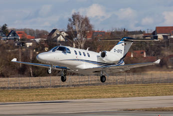 D-IEFD - Eisele Flugdienst Cessna 525 CitationJet M2