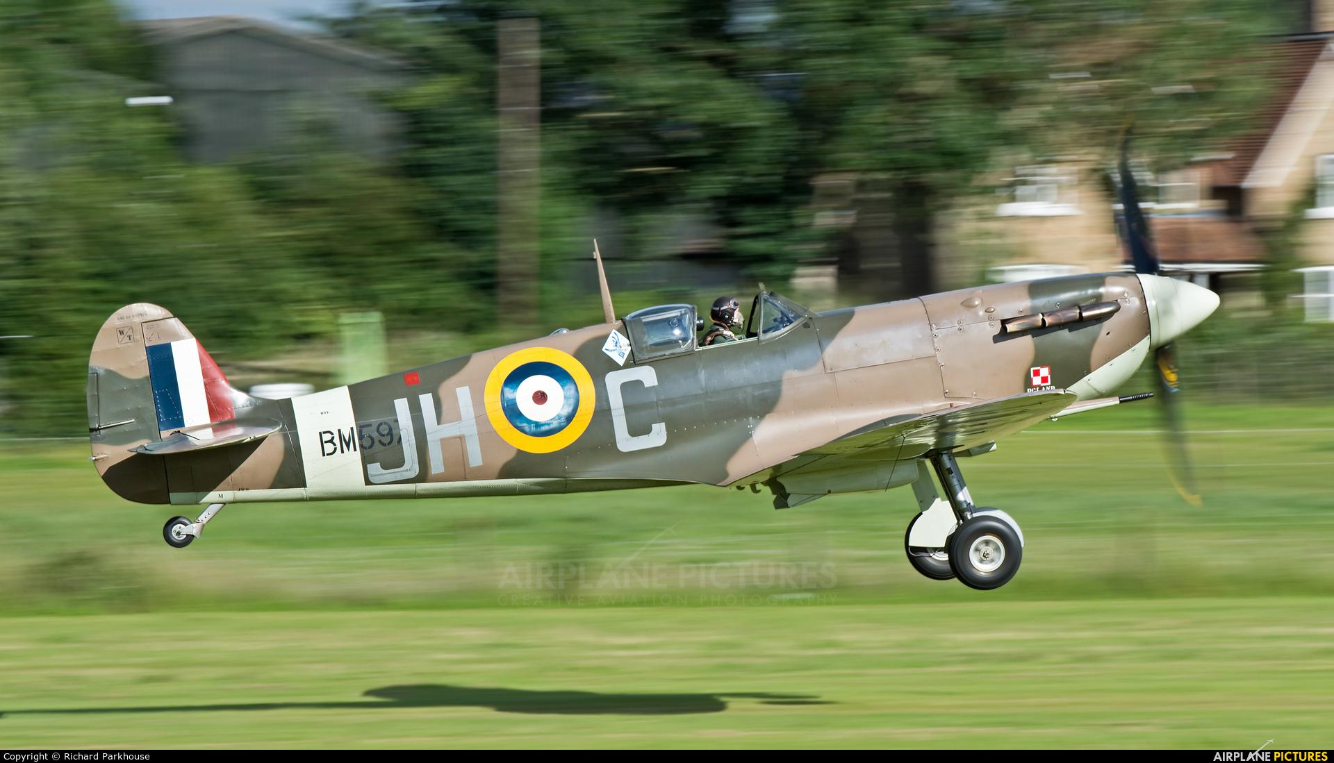 Historic Aircraft Collection G-MKVB aircraft at Old Warden