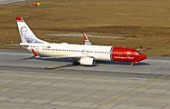 LN-DYN - Norwegian Air Shuttle Boeing 737-800 aircraft
