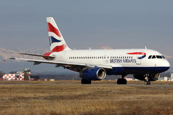 G-EUPW - British Airways Airbus A319
