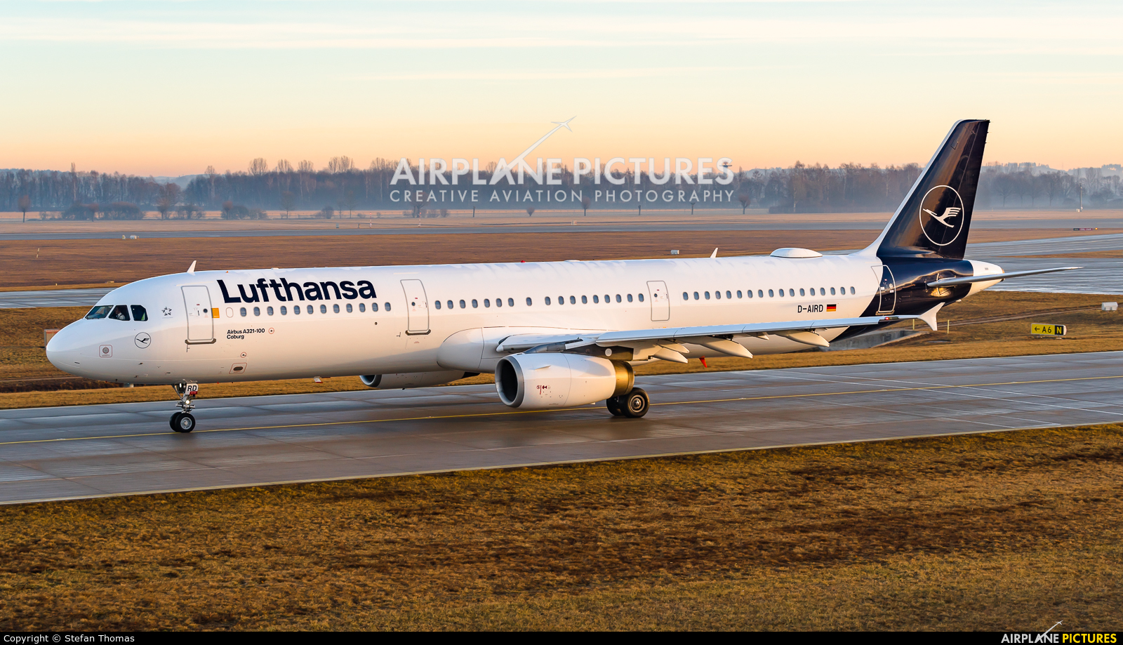 Lufthansa D-AIRD aircraft at Munich