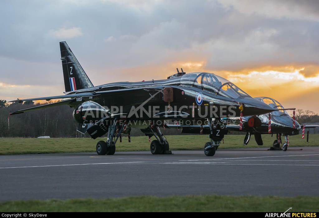 Royal Air Force XX837 aircraft at Cosford
