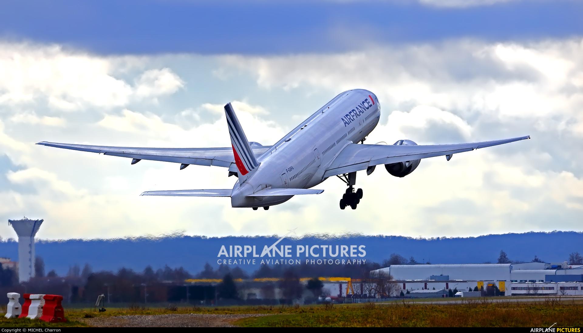 Air France F-GSPA aircraft at Paris - Orly