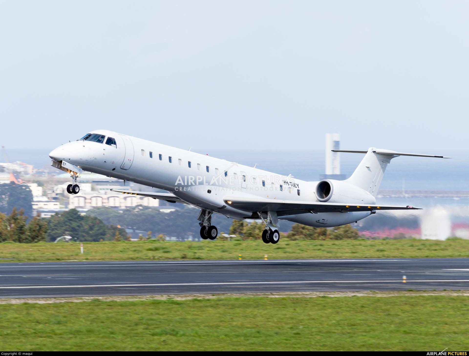 Maleth-Aero 9H-REY aircraft at La Coruña