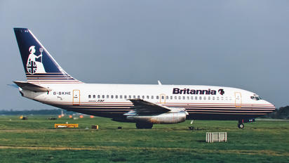 G-BKHE - Britannia Airways Boeing 737-200