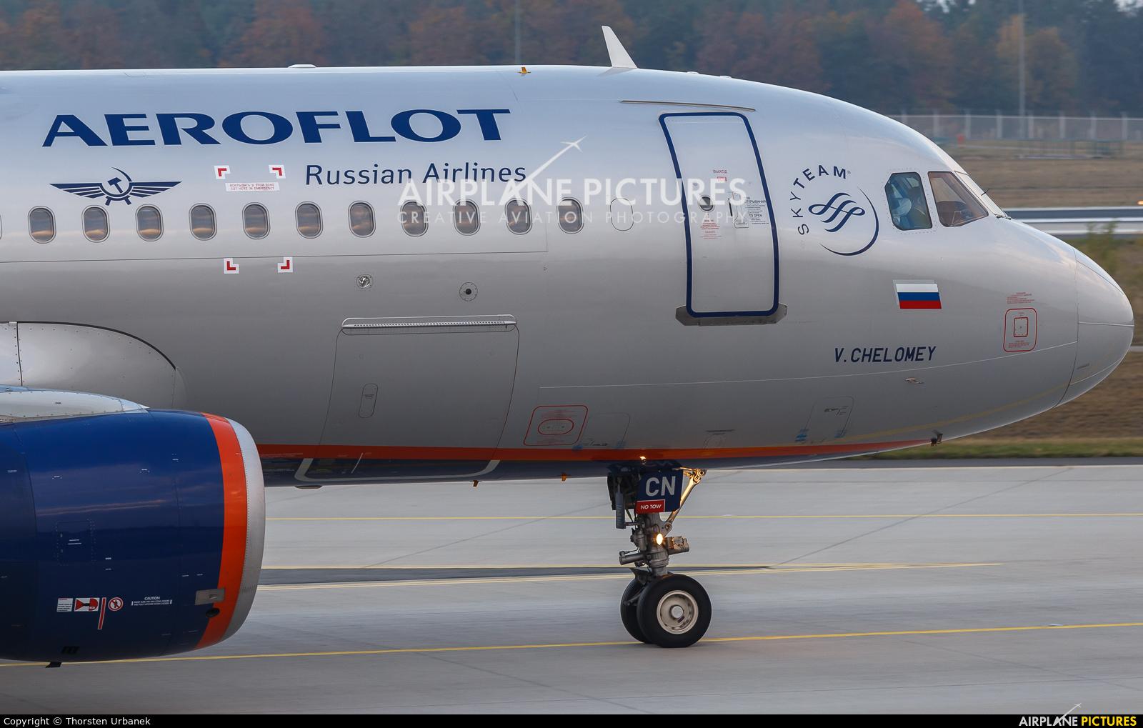 Aeroflot VQ-BCN aircraft at Frankfurt