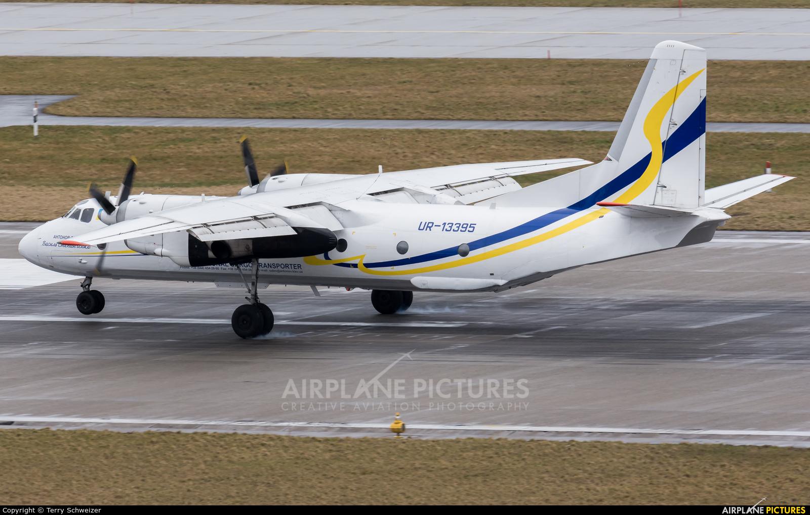 Antonov Airlines /  Design Bureau UR-13395 aircraft at Zurich