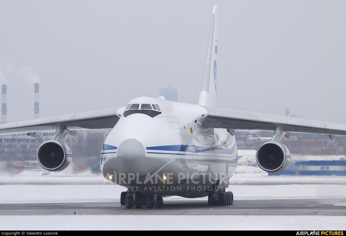 Russia - Air Force RA-82010 aircraft at St. Petersburg - Pulkovo