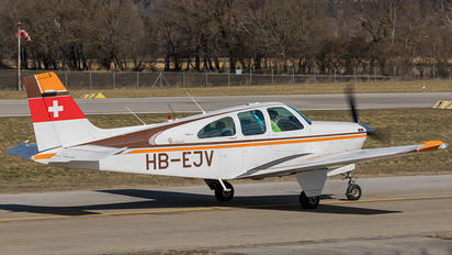 HB-EJV - Private Beechcraft 33 Debonair / Bonanza