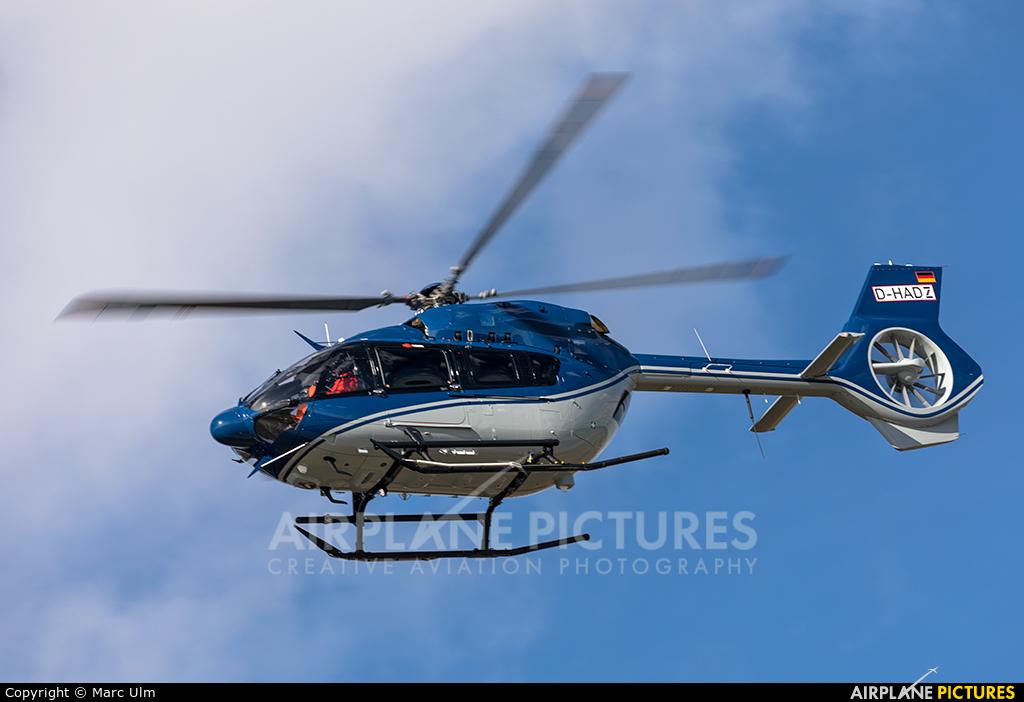 Eurocopter D-HADZ aircraft at Augsburg