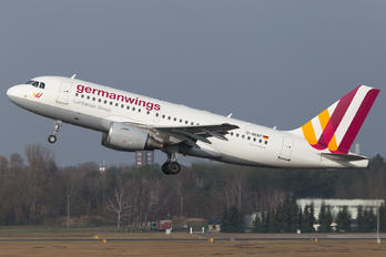 D-AKNT - Germanwings Airbus A319