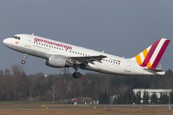 D-AKNT - Germanwings Airbus A319
