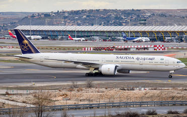 HZ-AK42 - Saudi Arabian Airlines Boeing 777-300ER