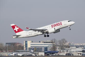 HB-JBA - Swiss Bombardier CS100