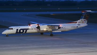 SP-EQI - LOT - Polish Airlines de Havilland Canada DHC-8-402Q Dash 8