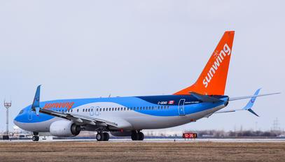C-GEWO - Sunwing Airlines Boeing 737-800