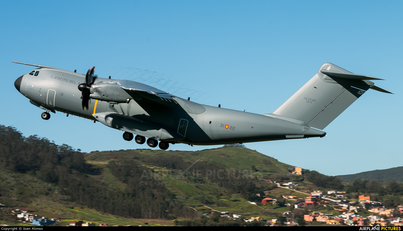 Spain - Air Force TK.23-02 aircraft at Tenerife Norte - Los Rodeos