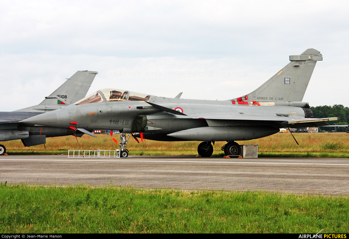 France - Air Force 114 aircraft at Uden - Volkel