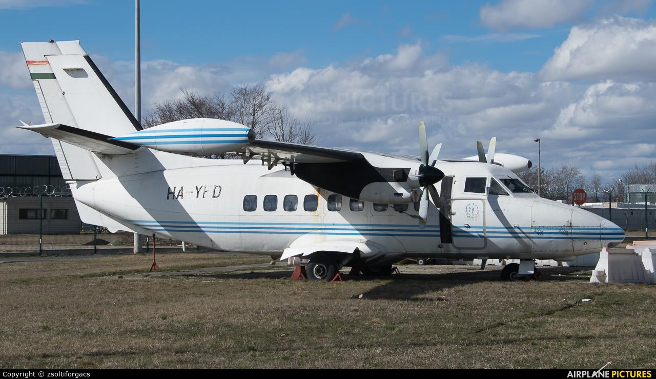HA-YFD aircraft at Budapest Ferenc Liszt International Airport