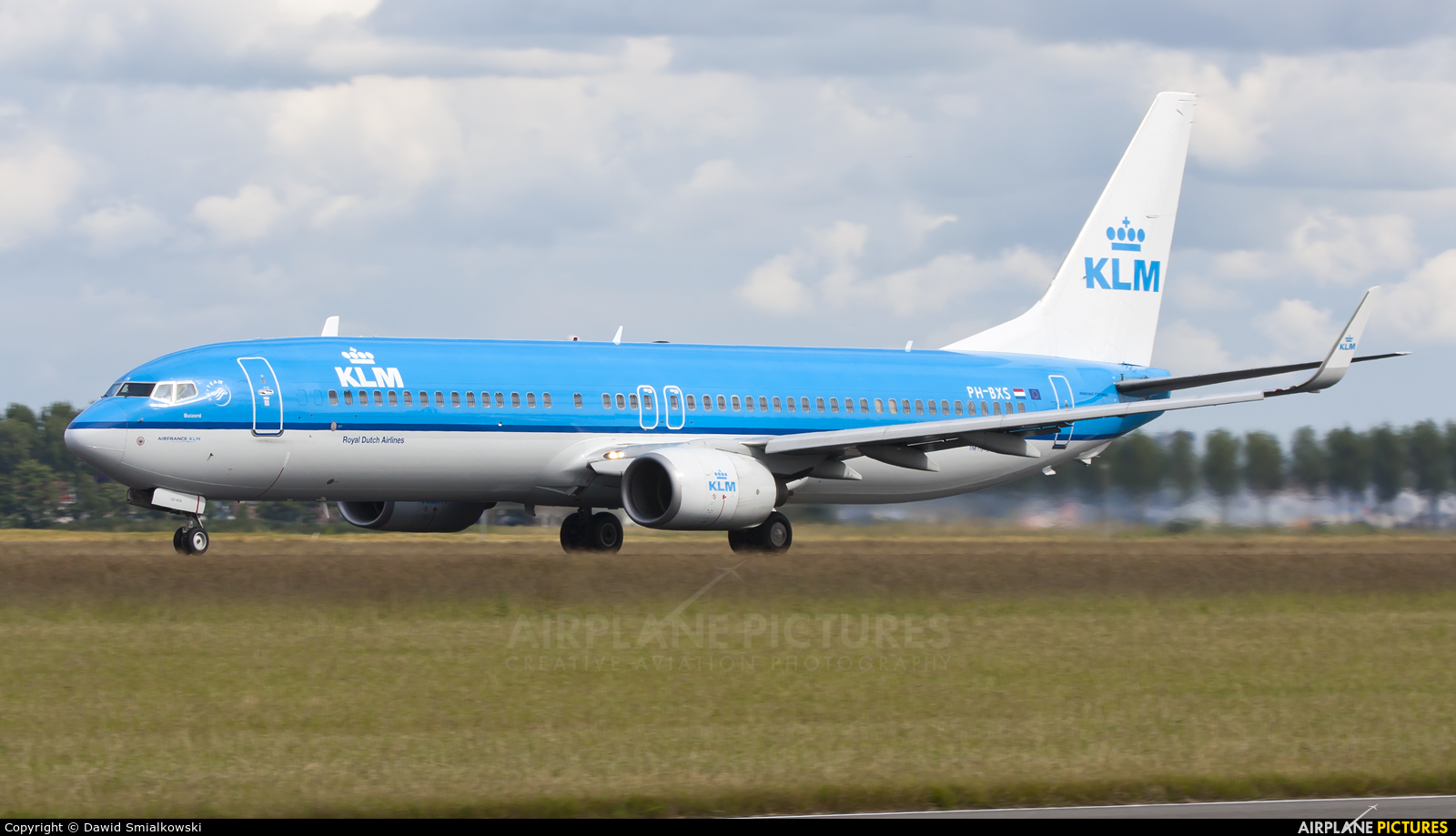 KLM PH-BXS aircraft at Amsterdam - Schiphol