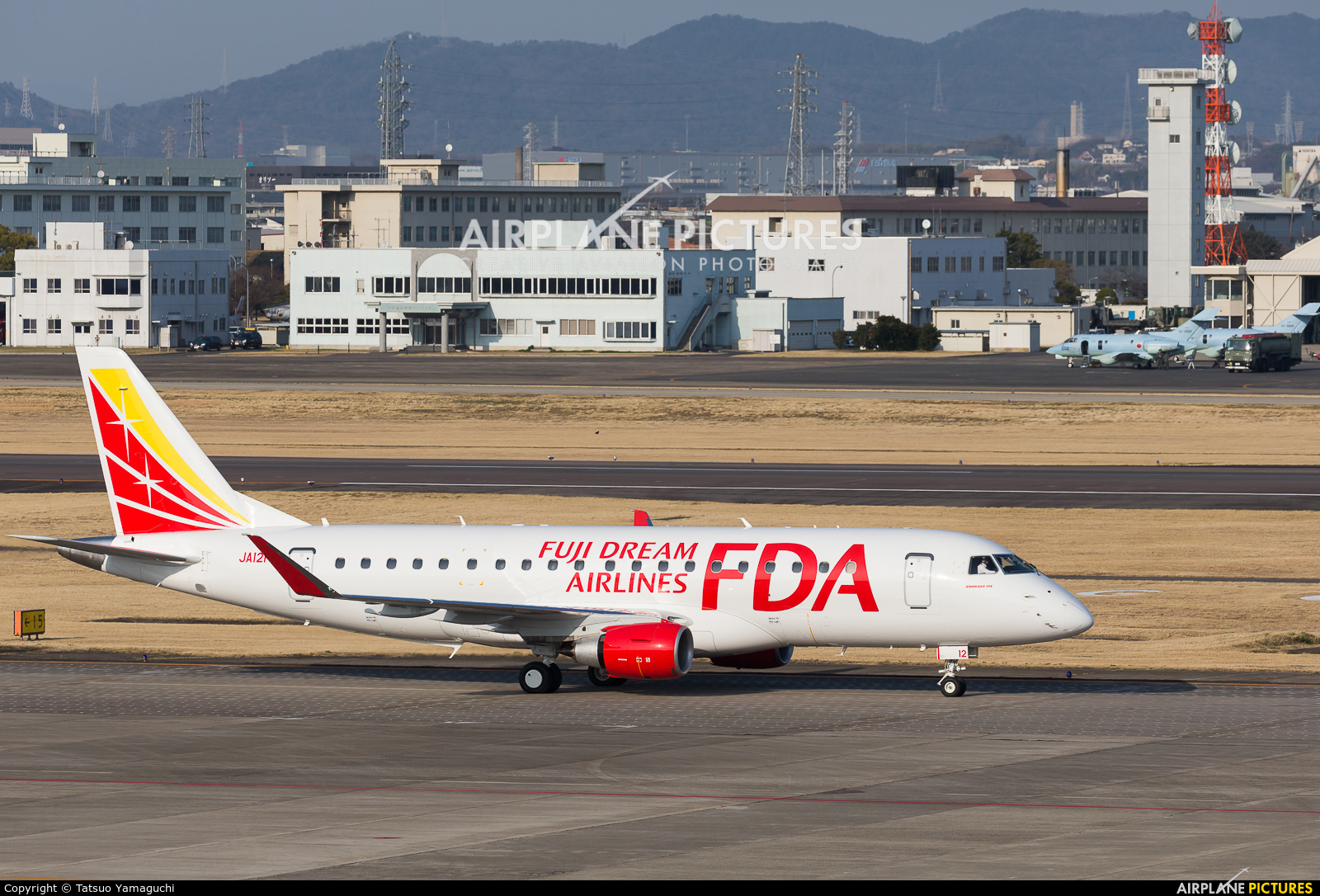 Fuji Dream Airlines JA12FJ aircraft at Nagoya - Komaki AB
