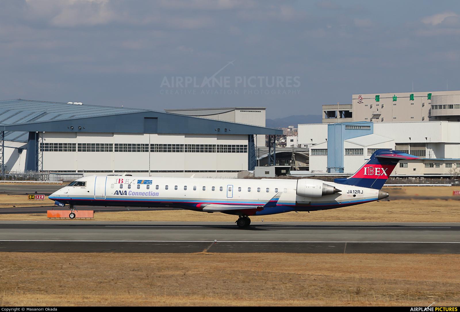 Ibex Airlines - ANA Connection JA12RJ aircraft at Osaka - Itami Intl