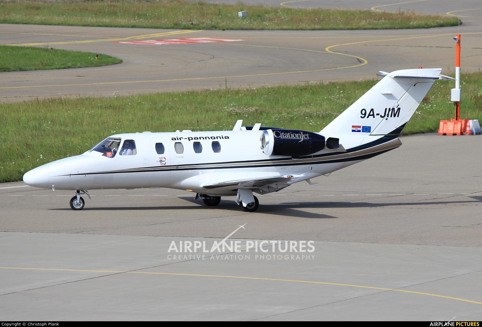 Air Pannonia 9A-JIM aircraft at Friedrichshafen