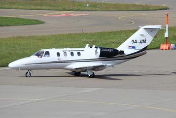 9A-JIM - Air Pannonia Cessna 525 CitationJet