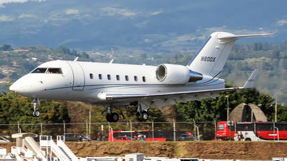 N80DX - Private Canadair CL-600 Challenger 604