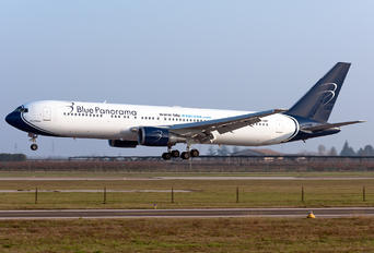 EI-DBP - Blue Panorama Airlines Boeing 767-300