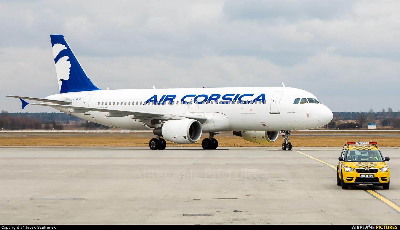 Air Corsica F-HZPG aircraft at Katowice - Pyrzowice