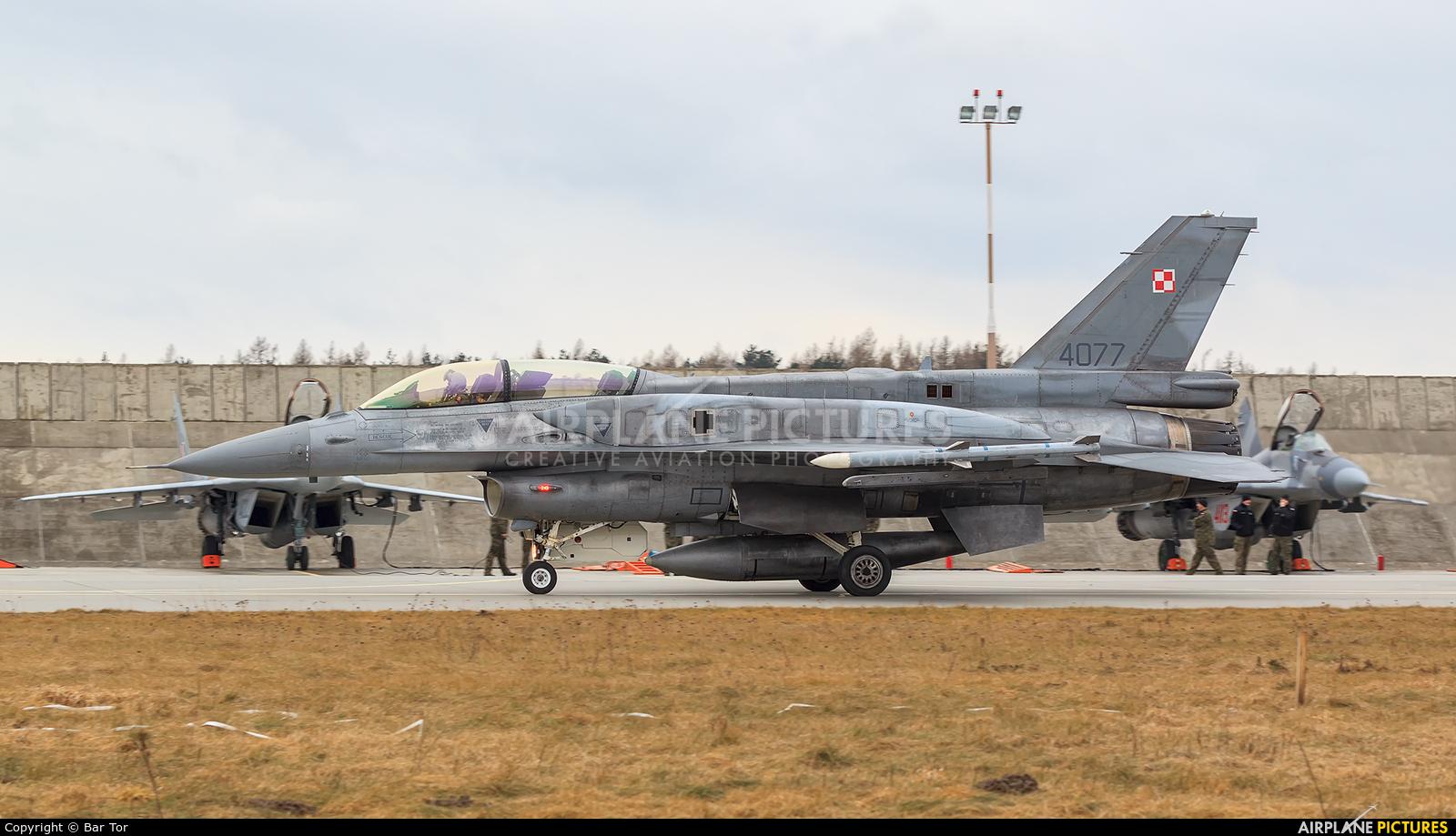 Poland - Air Force 4077 aircraft at Poznań - Krzesiny