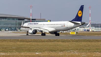 D-AEBC - Lufthansa Regional - CityLine Embraer ERJ-195 (190-200)