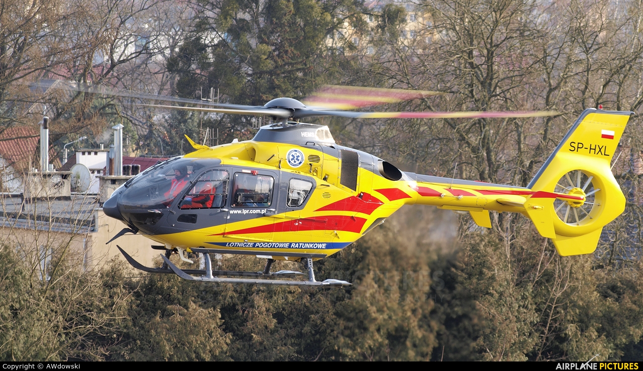 Polish Medical Air Rescue - Lotnicze Pogotowie Ratunkowe SP-HXL aircraft at Off Airport - Poland