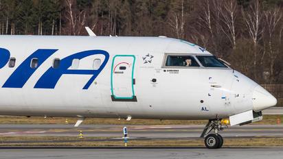 S5-AAL - Adria Airways Canadair CL-600 CRJ-900