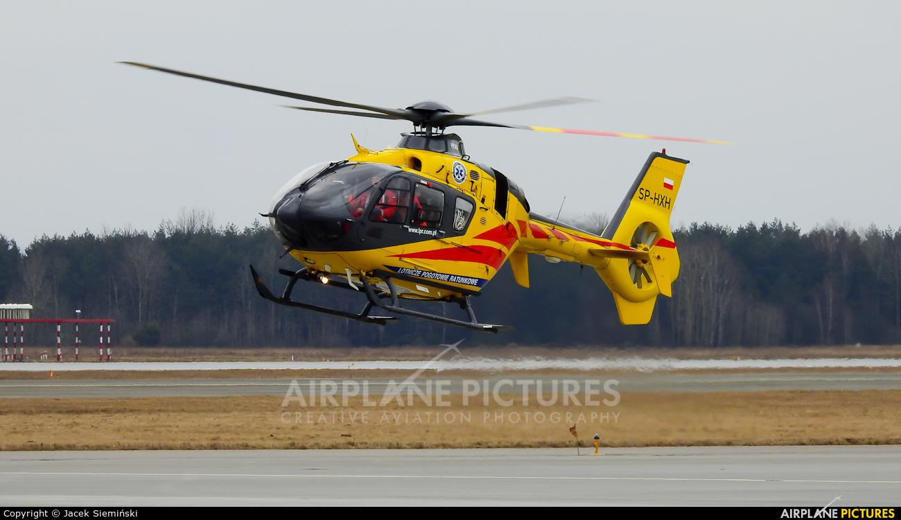 Polish Medical Air Rescue - Lotnicze Pogotowie Ratunkowe SP-HXH aircraft at Katowice - Pyrzowice