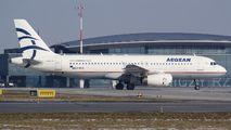 SX-DGC - Aegean Airlines Airbus A320 aircraft