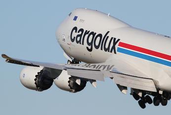 LX-VCL - Cargolux Boeing 747-8F