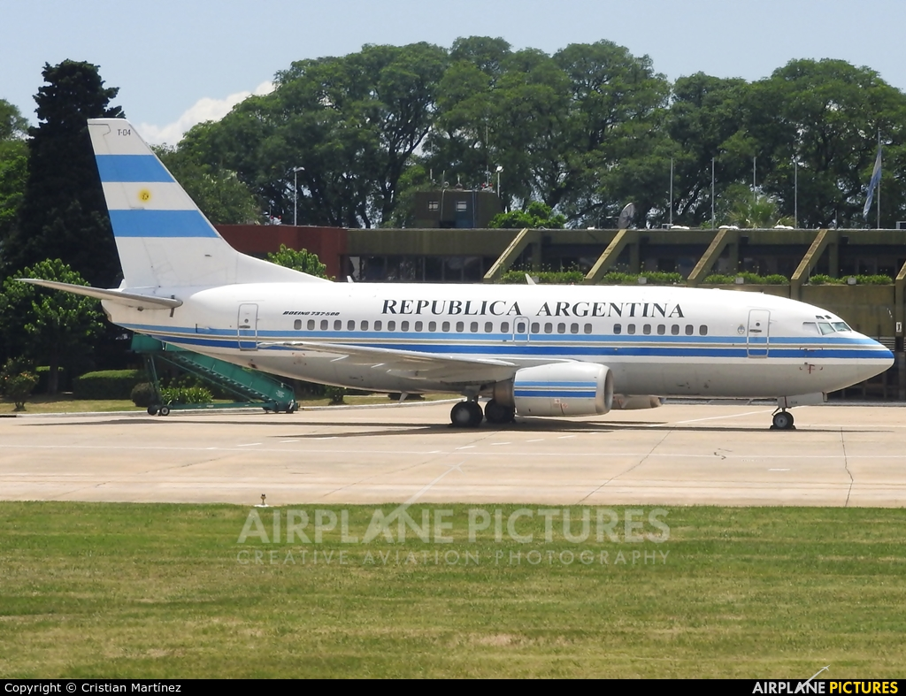 Argentina - Government T-04 aircraft at Buenos Aires - Jorge Newbery