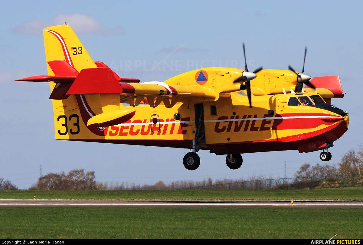 France - Sécurité Civile F-ZBFN aircraft at Liège-Bierset