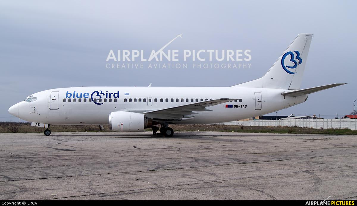 Bluebird Airways 9H-TAS aircraft at Craiova