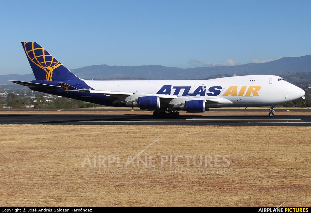 Atlas Air N419MC aircraft at San Jose - Juan Santamaría Intl