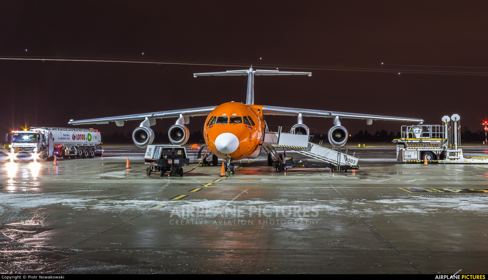 ASL Airlines EC-MHR aircraft at Warsaw - Frederic Chopin